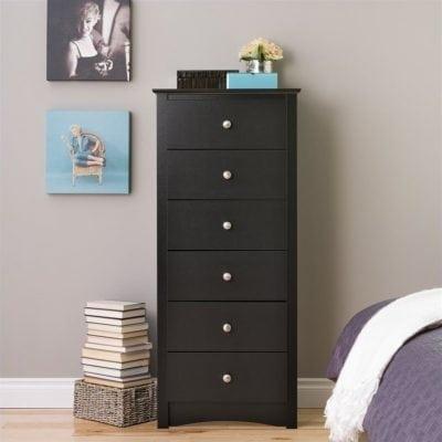 lemari laci kayu minimalis
