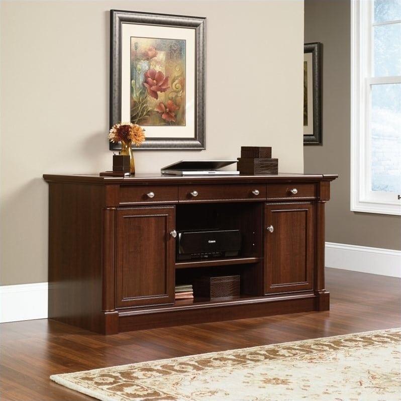 meja kerja jati minimalis