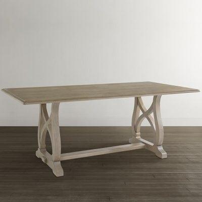 meja makan klasik kayu