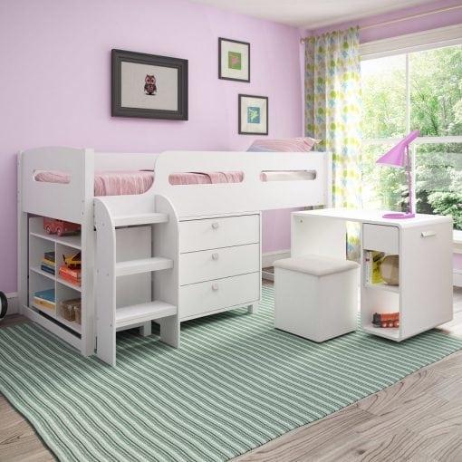 set tempat tidur tingkat
