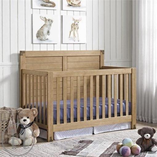 tempat tidur bayi natural