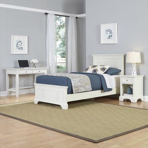 kamar set anak minimalis putih
