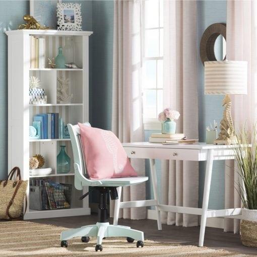 set meja kerja minimalis modern