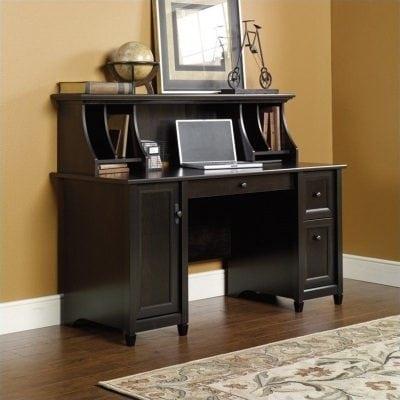 meja kerja minimalis natural