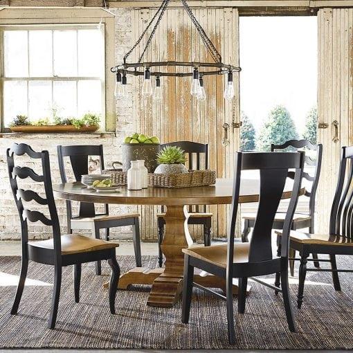 set meja makan minimalis braf