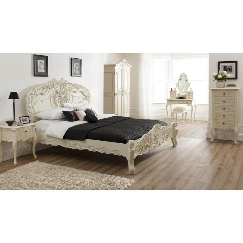 set tempat tidur rococo
