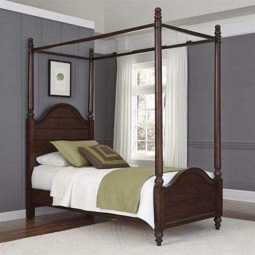 tempat tidur anak kanopi