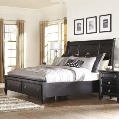 tempat tidur utama minimalis