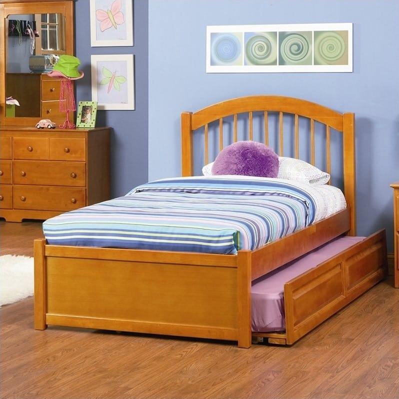 tempat tidur anak minimalis natural