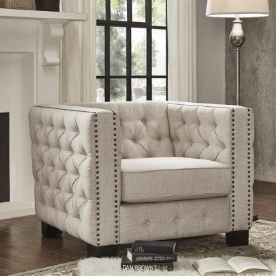 Sofa Tamu Mewah 1 Dudukan
