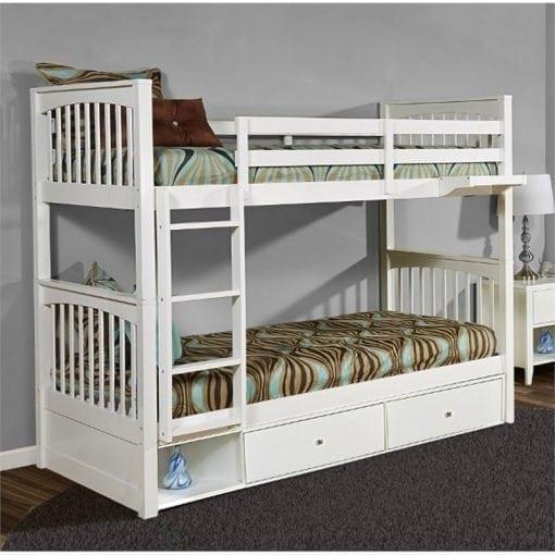 Furniture Tempat Tidur Tingkat Kayu