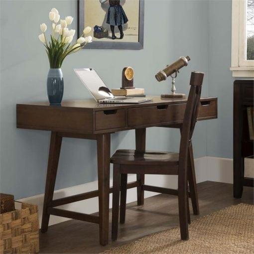 meja kantor minimalis modern scandy
