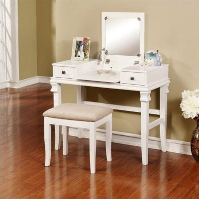 meja rias minimalis sederhana