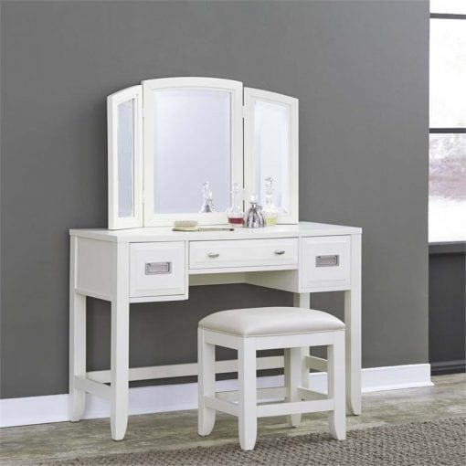 meja rias putih