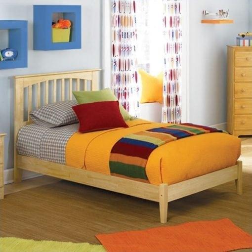 tempat tidur anak sederhana