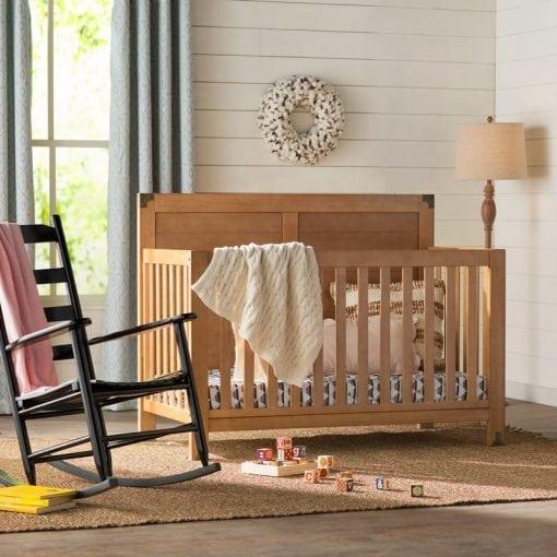 tempat tidur bayi jati
