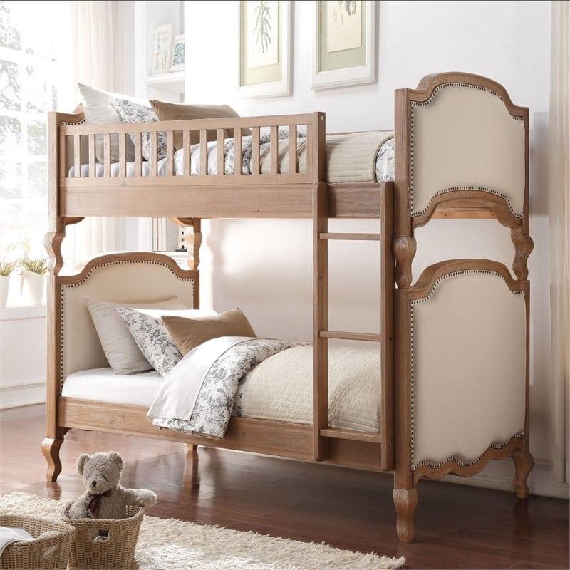 tempat tidur tingkat kayu klasik