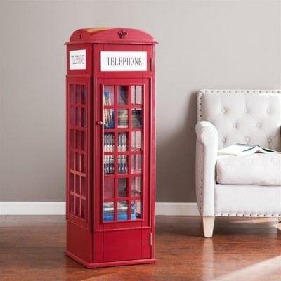 Lemari Buku Model Telphone