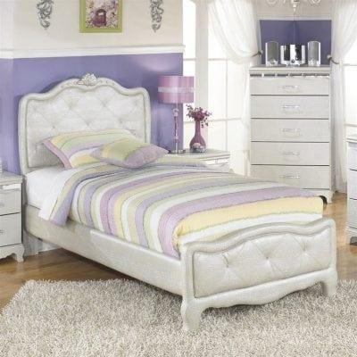 tempat tidur anak karakter barbie