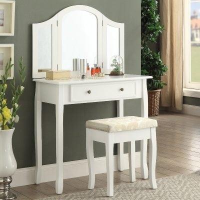 Meja Rias Minimalis Putih Modern