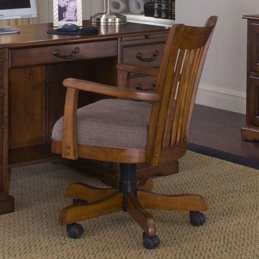 Satu Set Meja Dan Kursi Kerja (2)
