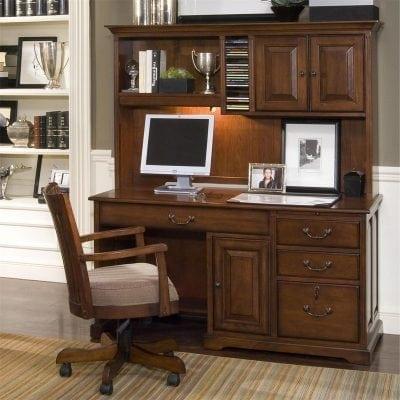 Satu Set Meja Dan Kursi Kerja