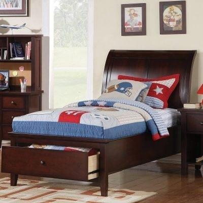 Set Tempat Tidur Anak Plus Meja Belajar