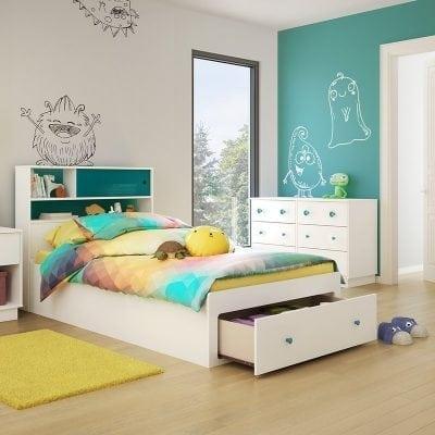 Tempat Tidur Anak Berlaci Multifungsi