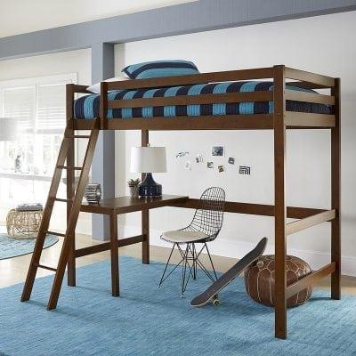 Tempat Tidur Anak Tingkat & Meja Belajar