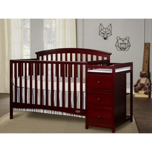 Tempat Tidur Bayi Plus Baby Tafel (2)