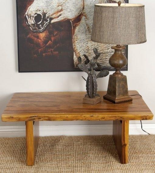 Meja Tamu Suar Wood Minimalis Modern