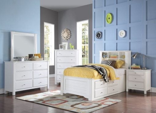 Set Tempat Tidur Anak Jati Laci Multifungsi (3)