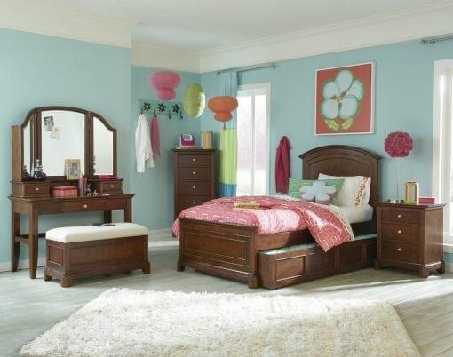 Set Tempat Tidur Anak Sorong Jati (2)