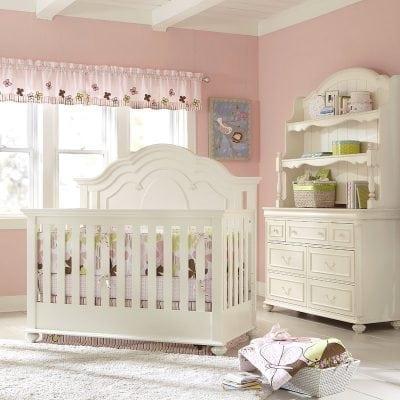 Set Tempat Tidur Bayi Multifungsi