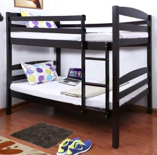 Tempat Tidur Susun Jati Minimalis