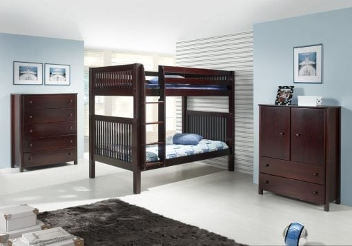 Tempat Tidur Tingkat Jati Set (2)