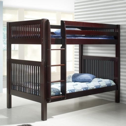 Tempat Tidur Tingkat Jati Set