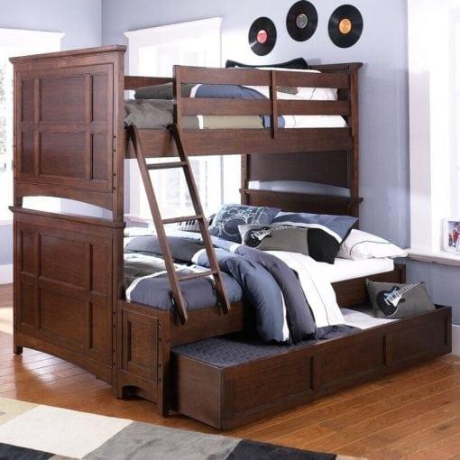 Tempat Tidur Tingkat Jati Sorong