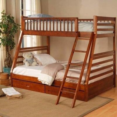 Tempat Tidur Tingkat Minimalis Multifungsi