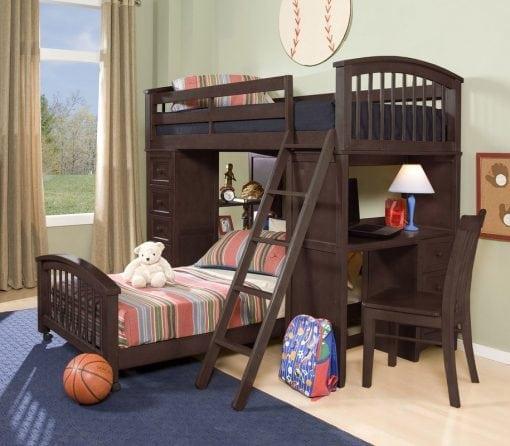 Tempat Tidur Tingkat Set Lengkap (2)