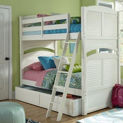 Tempat Tidur Tingkat Sorong Minimalis