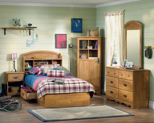 Set Tempat Tidur Anak Jati Klasik (2)