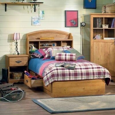 Set Tempat Tidur Anak Jati Klasik