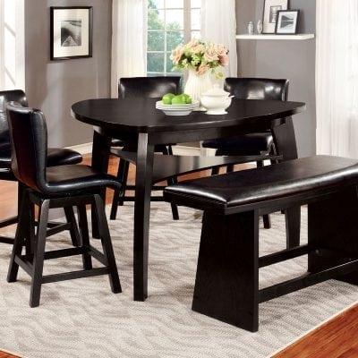 Satu Set Meja Makan Unik Modern