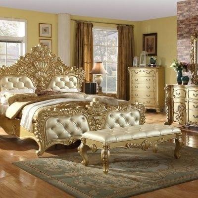 Satu Set Tempat Tidur Mewah