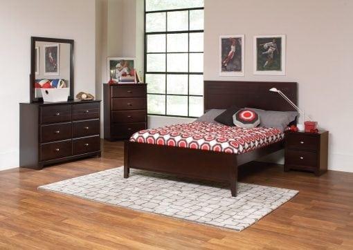 Set Tempat Tidur Kayu Jati Asli (2)