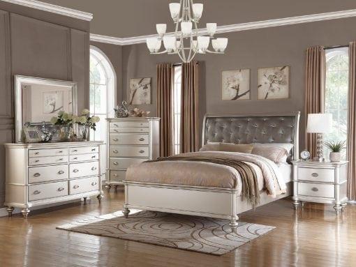 Set Tempat Tidur Minimalis Mewah (2)