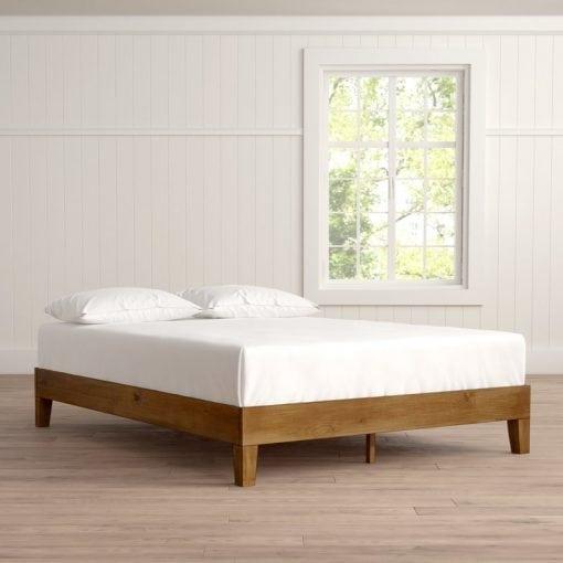 Tempat Tidur Jati Minimalis Sederhana (2)