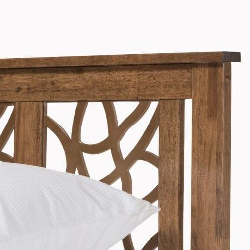 Tempat Tidur Jati Minimalis Unik (2)