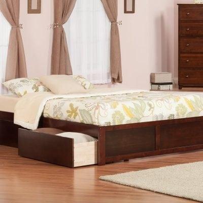 Tempat Tidur Jati Sederhana